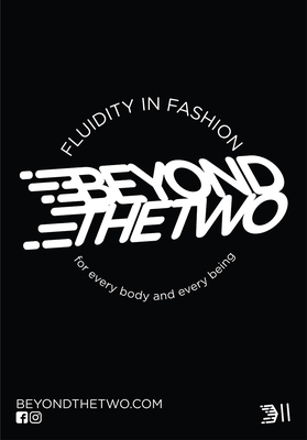 Tshirt - Beyond The Two - Gender Norms - Black with Orange/White - Size XS/10
