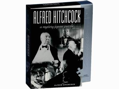 Bepuzzled Alfred Hitchcock - A Mystery; 1000-piece Jigsaw Puzzle