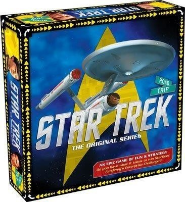 Road Trip Star Trek Board Game