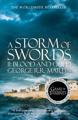 Storm of Swords: Blood and Gold (#3.1 A Song of Ice & Fire) (landscape cover)