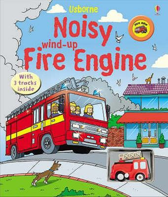 Noisy Wind-Up Fire Engine (Usborne)