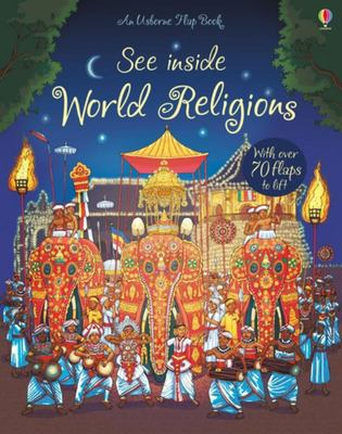 See Inside World Religions (Usborne Lift-the-Flap Board Book)