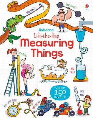Measuring Things (Usborne Lift-the-Flap Board Book)