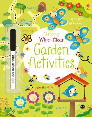 Wipe-Clean Garden Activities