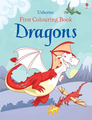 Dragons (First Colouring Book)