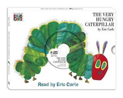 The Very Hungry Caterpillar (HB Book & CD Slipcase)