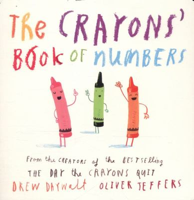 The Crayons' Book of Numbers (Board)