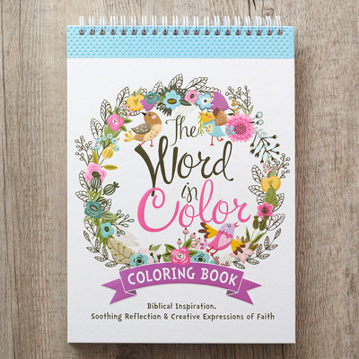 The Word in Colour: Colouring Book