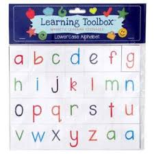 Lowercase Alphabet (Magnetic Learning Resources)