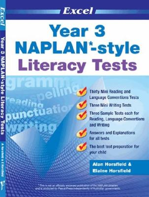 Year 3 NAPLAN*-style Literacy Tests - Excel