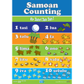 Samoan Counting A3 Poster