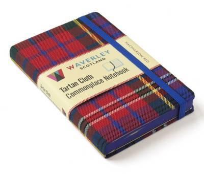 MacPherson Red: Waverley Genuine Tartan Cloth Commonplace Notebook (9cm x 14cm)
