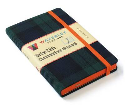 Black Watch: Waverley Genuine Tartan Cloth Commonplace Notebook (9cm x 14cm)