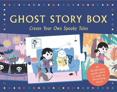 Ghost Story Box : Create Your Own Spooky Tales: 20 Story-telling Puzzle Pieces