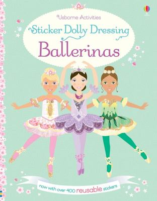 Ballerinas (Usborne Sticker Dolly Dressing)