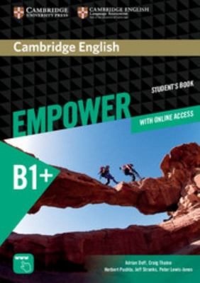 Cambridge English Empower Intermediate Student Book + Online Assessment and Practice and Online Workbook