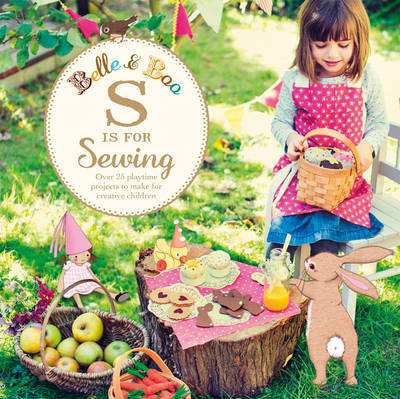 Belle and Boo S is for Sewing