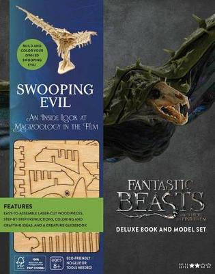 Swooping Evil Deluxe Book and Model Set (IncrediBuilds: Fantastic Beasts and Where to Find Them)