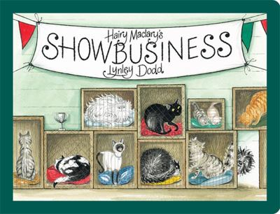 Hairy Maclary's Showbusiness (Board Book)