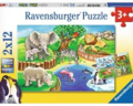 Animals in the Zoo Puzzle 12pc