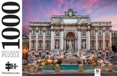 Trevi Fountain, Italy: 1000-Piece Jigsaw Puzzle Mindbogglers