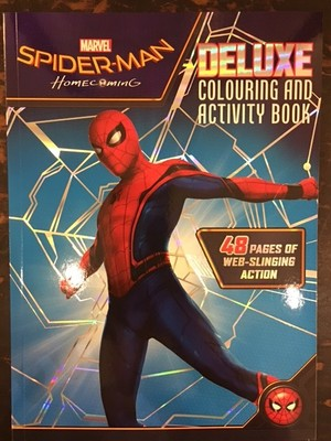 Spider-Man Homecoming: Deluxe Colouring and Activity Book