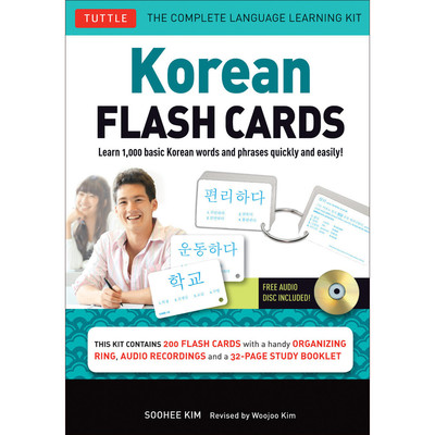 Korean Flashcards Kit