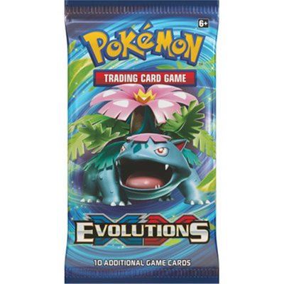 Large pokemon xy12 evolutions booster