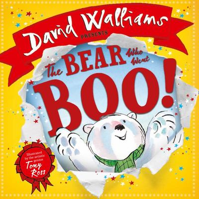 The Bear Who Went Boo (Board Book)