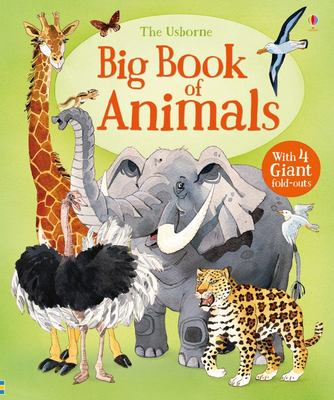 Usborne Big Book of Animals (Board Book)