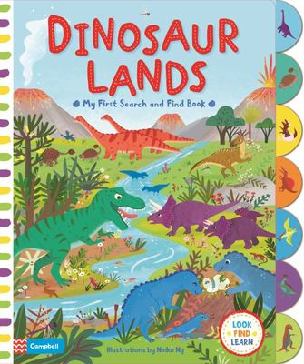 Dinosaur Lands (Look Find Learn)