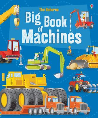 Usborne Big Book of Machines (Board Book)