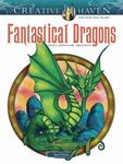 Creative Haven Fantastical Dragons Coloring Book