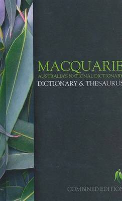 MACQUARIE DICTIONARY & THESAURUS [HARDCOVER]