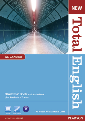 New Total English Advanced Students Book with Active Book pack. B2+ - C1