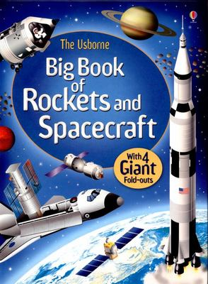 Usborne Big Book of Rockets and Spacecraft (Board Book)