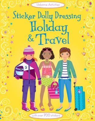Holiday & Travel (Usborne Sticker Dolly Dressing)