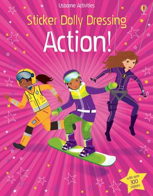 Action! (Usborne Sticker Dolly Dressing)