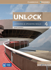 Unlock Level 4 Listening and Speaking skills Student's book and online workbook