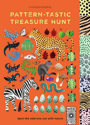 Pattern-Tastic Treasure Hunt: Learn Your Colours with Nature (Board Book)