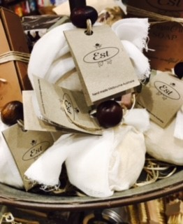 Est Natural Soap Balls Muslin Wrapped Asstd