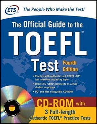ETS, the Official Guide to the TOEFL® Test - with CD ROM - Fourth Edition