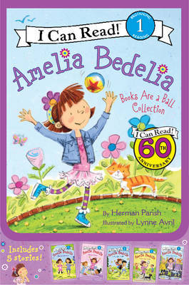 Amelia Bedelia I Can Read Box Set #2: Books are a Ball Collection