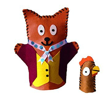 Roald Dahl Fantastic Mr. Fox Hand Puppet