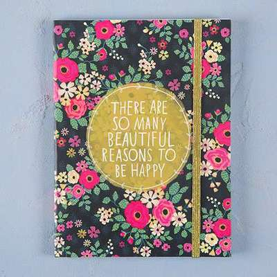 Beautiful Reasons to be Happy Journal