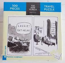 Lassie: 100-piece Travel Jigsaw Puzzle New Yorker (TNYPC-NPZNY1609)
