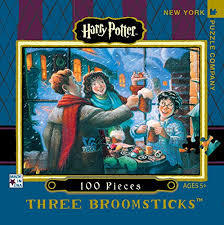 Three Broomsticks - Travel Jigsaw Puzzle (Harry Potter 100-piece)