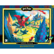 Quidditch Harry Potter 1000 Piece Jigsaw Puzzle