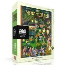 New Yorker Jigsaw Puzzle (Town Square Dance)