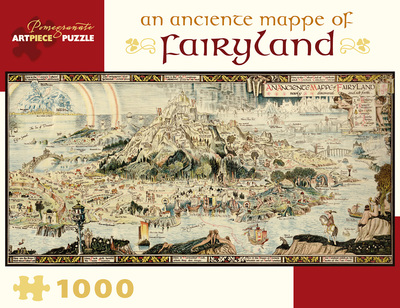 An Anciente Mappe of Fairyland 1000pcs